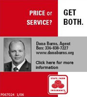 CLICK HERE to view Dana Burns State Farm